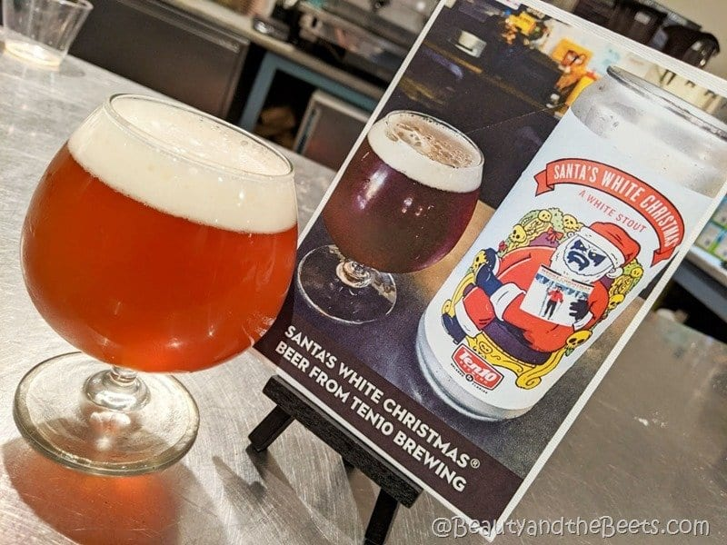 Santas White Christmas Ten10 Brewing Beauty and the Beets