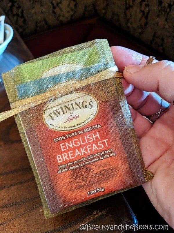 Twinings Disney Tea Experience tea bags Beauty and the Beets