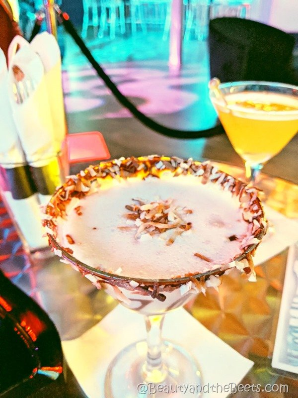 Toasted Coconut Martini Icebar Beauty and the Beets