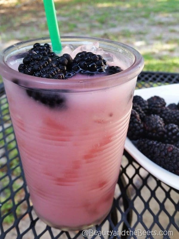 Beauty and the Beets Starbucks #VioletDrink recipe