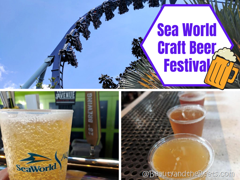 Sea World Orlando Craft Beer 2020 Beauty and the Beets