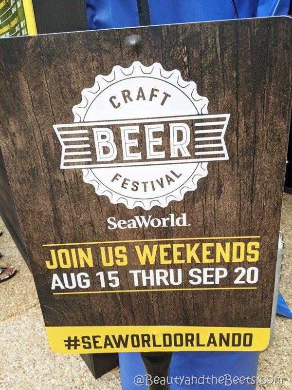 SeaWorldOrlando Craft Beer Beauty and the Beets 2020