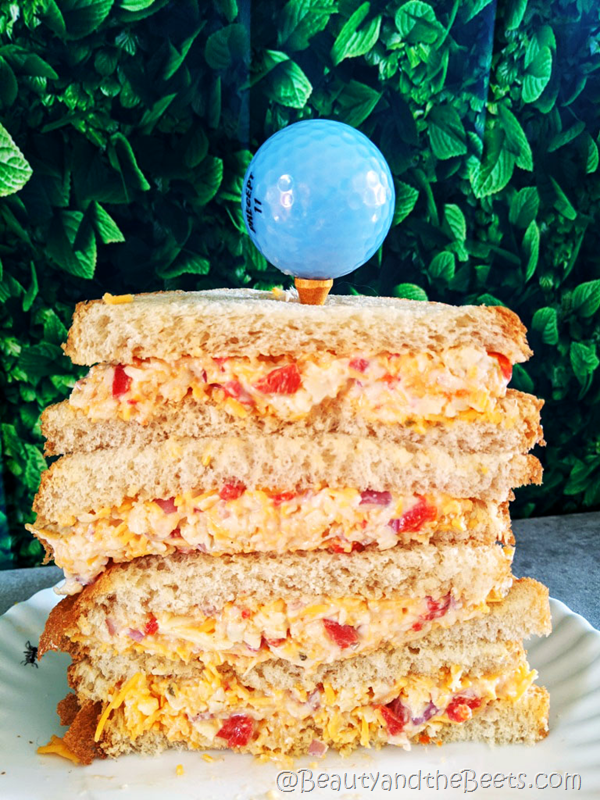 Pimento Cheese double decker Beauty and the Beets