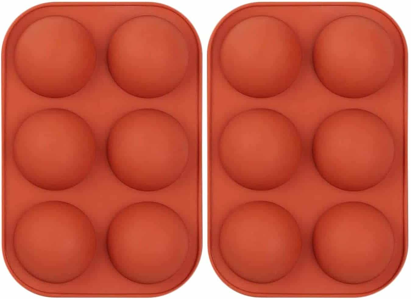"""2"""" silicone sphere mold"""
