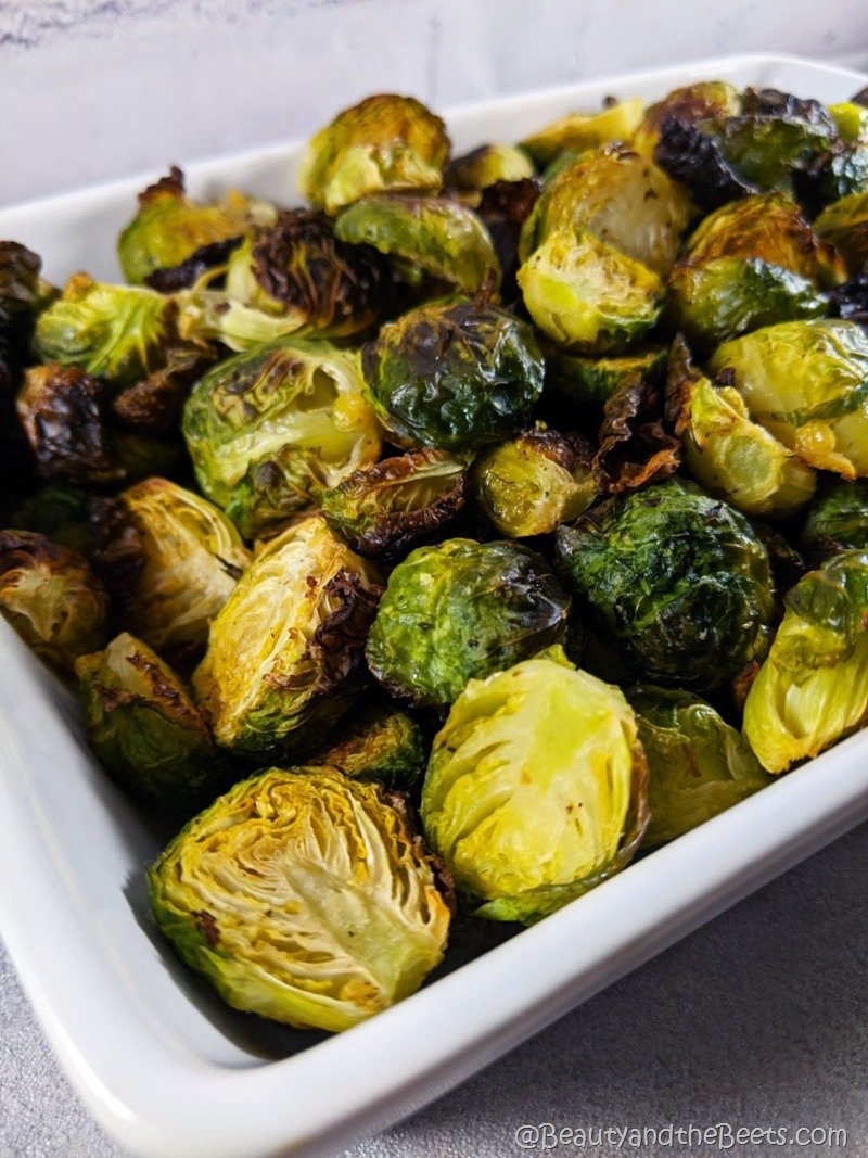 Roast Brussels Sprouts Beauty and the Beets