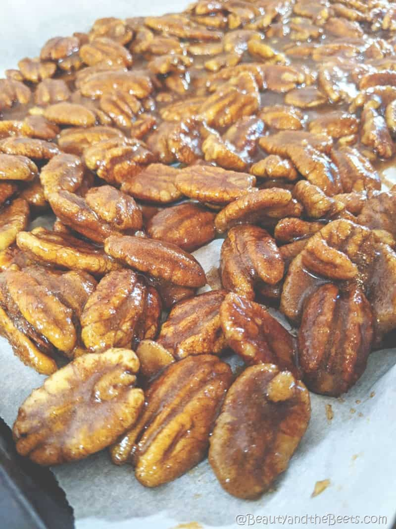 Candied Pecan Recipe Beauty and the Beets