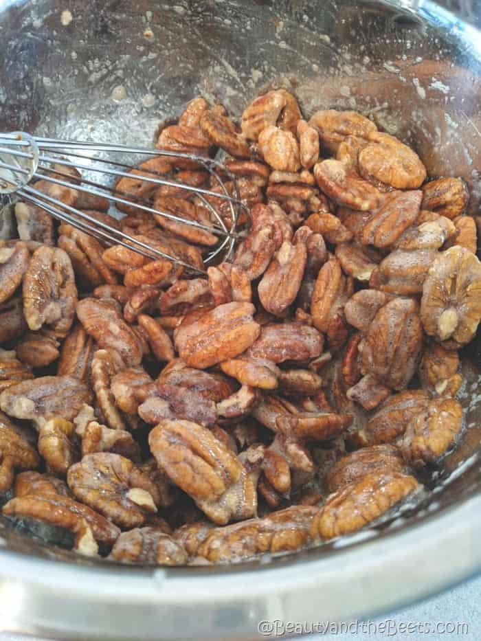 Sugar Pecans Beauty and the Beets mix bowl