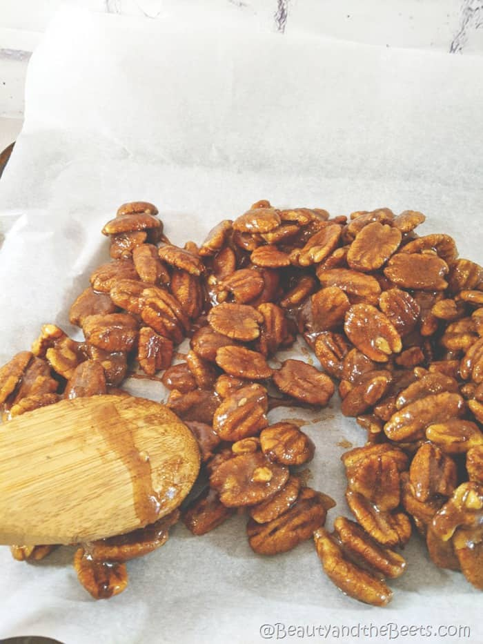 Sugared Pecan Recipe Beauty and the Beets