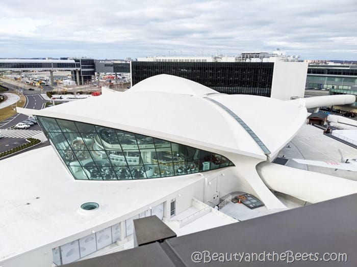 TWA Hotel JFK Airport terminal 5 Beauty and the Beets