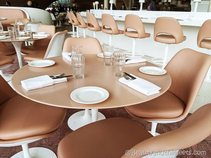 TWA Hotel Paris Cafe Beauty and the Beets
