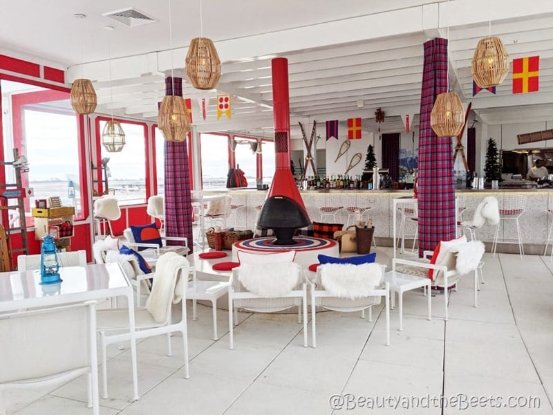 TWA Hotel Runway Chalet Beauty and the Beets