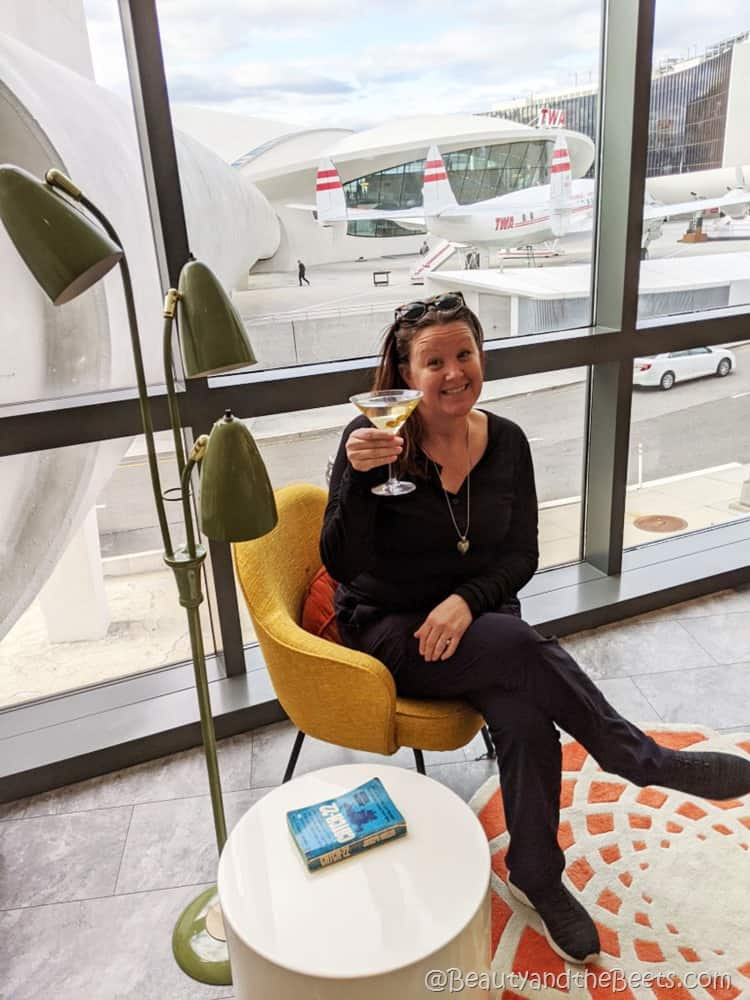 cheers TWA Hotel Beauty and the Beets