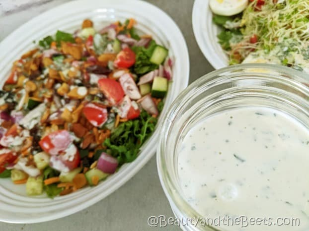 salads Creamy Tarragon Dressing Beauty and the Beets