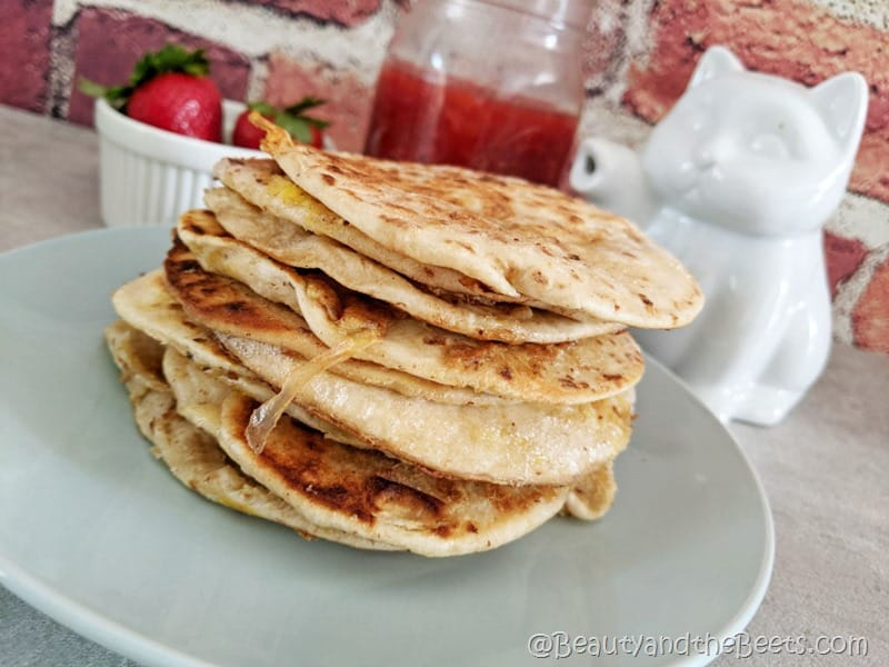 French toast Tortillas Beauty and the Beets