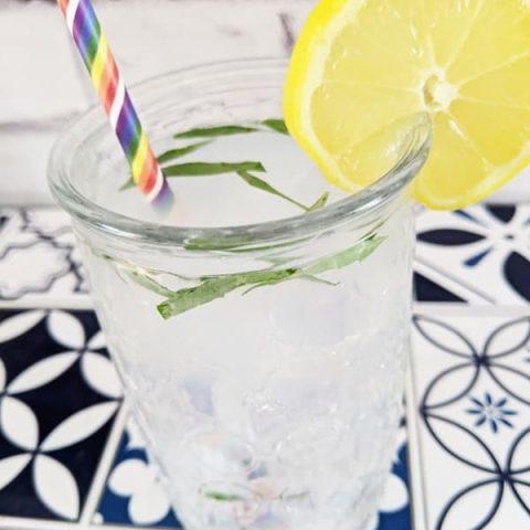 Tangy Tarragon Lemonade
