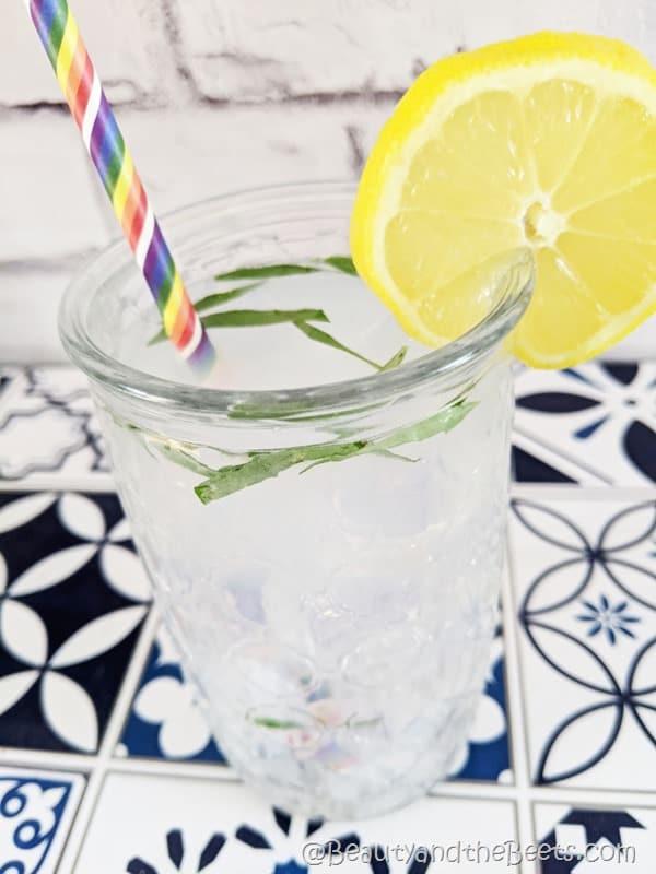 Tarragon Lemonade Beauty and the Beets