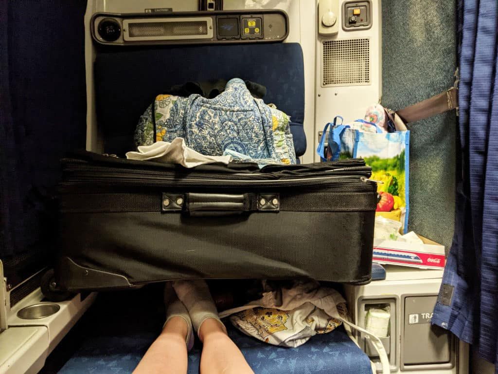 Is an upgrade to an Amtrak roomette worth the extra money? Let's break down the good, the bad, the ugly, and the really ugly.