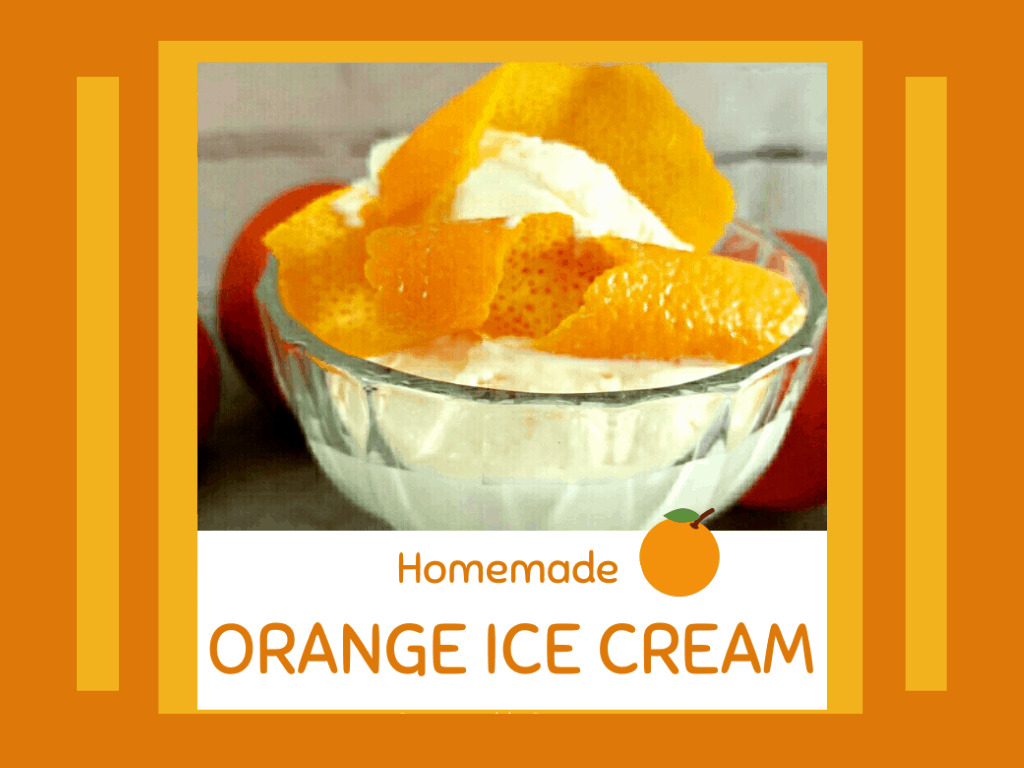 Here's a simple and refreshing orange ice cream recipe. You will see that making ice cream at home is easy and fun!