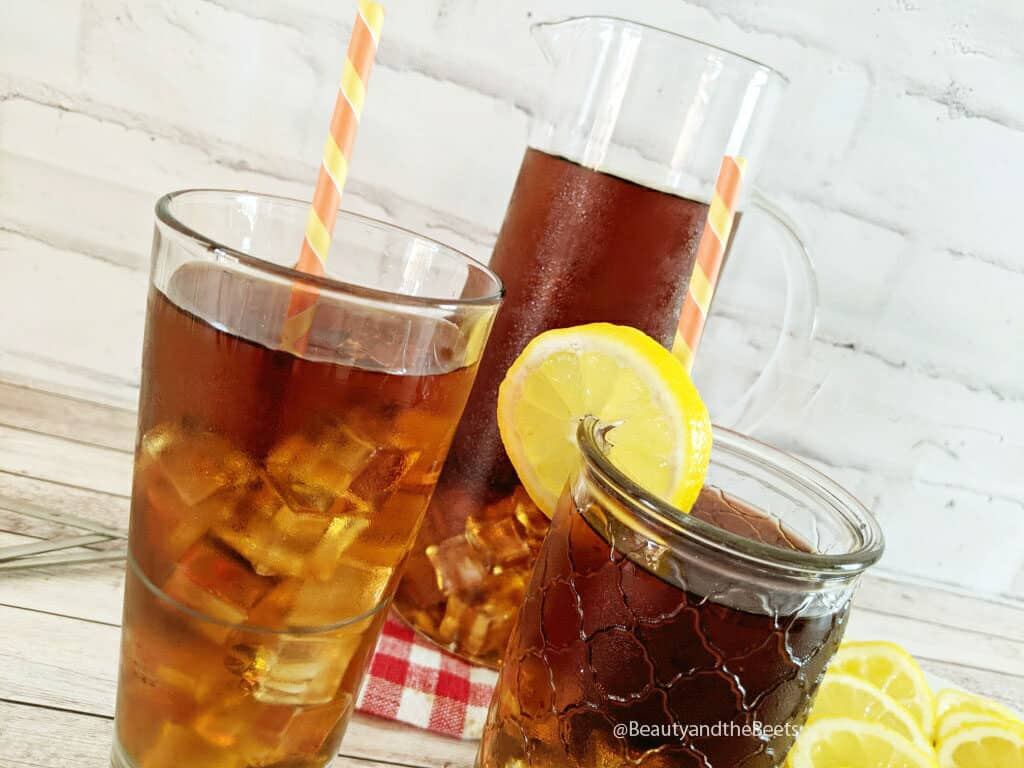 The most delightful Southern style sweet tea recipe on the planet. This is the real deal y'all, this ain't for the faint of heart.