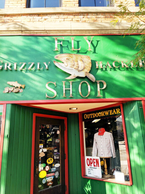 The Grizzly Hackle Fly Shop in Missoula, Montana