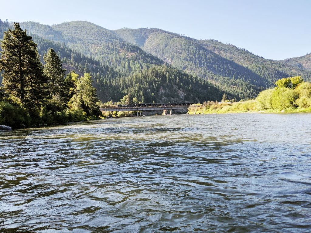 A group of four women set out on an adventure - fly fishing in Missoula, Montana.