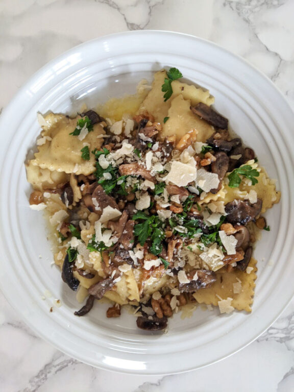 Brown Butter sauce is delicious on anything from pasta to roasted vegetables to grilled meat or fish..